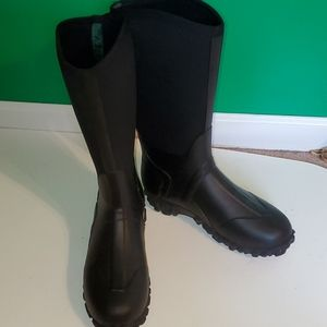Muck boots men's 14 talk black weather proof boots